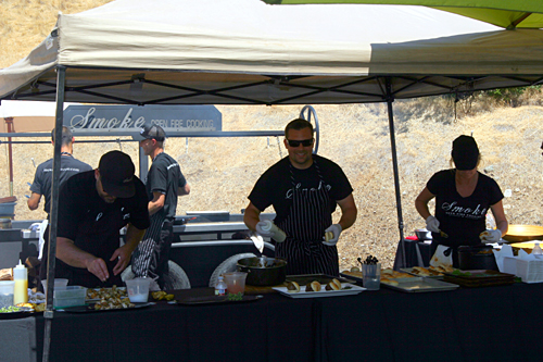 The grill masters from Smoke - Open Fire Cooking